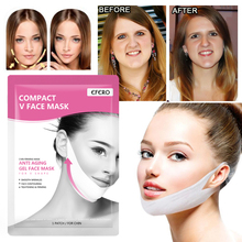 3PCS Gel Lifting Mask for Face V Shape Firming Beauty Sliming Anti Aging Wrinkle Remove Lift Tool