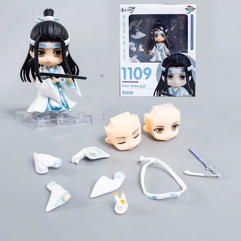 Nendoroid 1109 Anime Grandmaster Of Demonic Cultivation Lan Wangji PVC Action Figure Collectible Model Toy