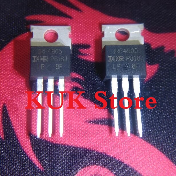 Real 100% Original NEW IRF4905 IRF4905PBF MOSFET 55V 74A TO-220 10PCS/LOT