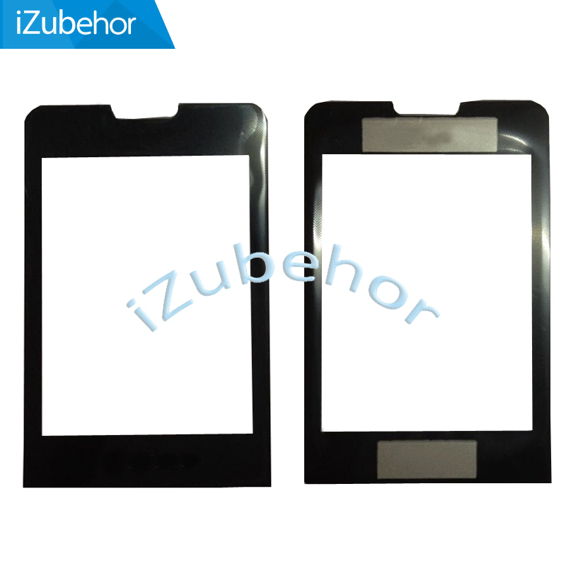 100% warranty Black Touch digitizer Glass Screen +Front housing For <font><b>Philips</b></font> <font><b>X1560</b></font> by free shipping image