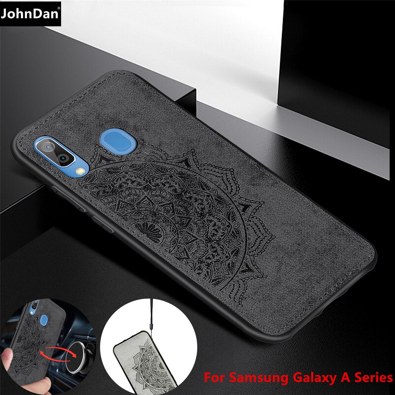 Mince étui pour samsung Galaxy A50 A30 A20 A10 A40 A70 A30S A50S Dos étui pour samsung 50 10 20 30 40 70 S Aimant Housse