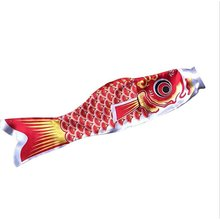 5 цветов 55 см водонепроницаемый японский Карп Windsock стример Висячие рыбы Декор с флагами кайт Koinobori для детей