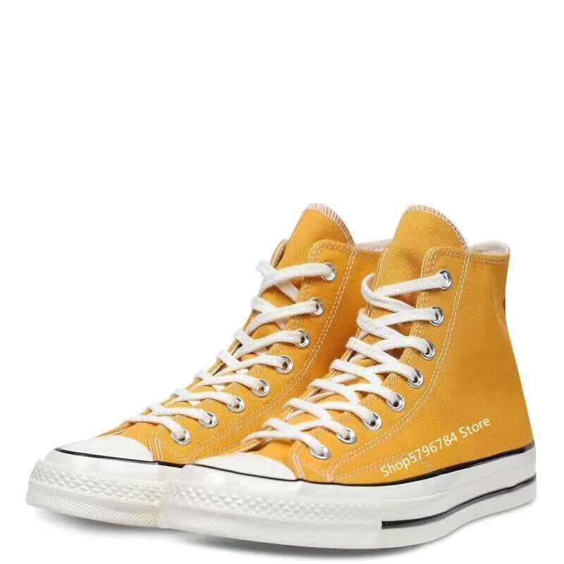 Кроссовки унисекс Converse CHUCK 70, желтая обувь для скейтбординга в стиле ретро, 1970 х годов|Катание на скейтборде|   | АлиЭкспресс