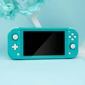 Image 5 - For Nintendo Switch Lite Case Shell Pink PC Hard Cover Back Grip Shell NS Mini Games Cover For Nintendo Switch Lite Accessories