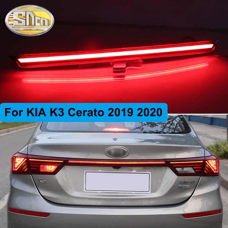 Achterbumper Kofferbak Achterlicht Voor Kia K3 Cerato 2019 2020 Led Achterlicht Reflector Remlicht Waarschuwing Signaal Rijden Fog lamp