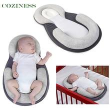 COZINESS Baby Correction Pillows Anti-Eccentric Head Baby U Shape Pillows Side Sleeping Washable Anti-Spill Milk For Newborn