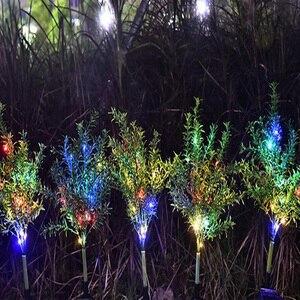 Image 2 - Solar Lamp Zonlicht Led Solar Licht Voor Tuin Decoratie Gazon Verlichting/Kerstboom Lamp/Outdoor Waterdichte Solar Tuin licht