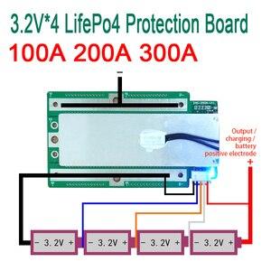 Image 2 - 4S 3.2V Lifepo4แบตเตอรี่ลิเธียมเหล็กฟอสเฟตป้องกัน12.8Vสูงอินเวอร์เตอร์Bms Pcmรถจักรยานยนต์รถยนต์ (100A)