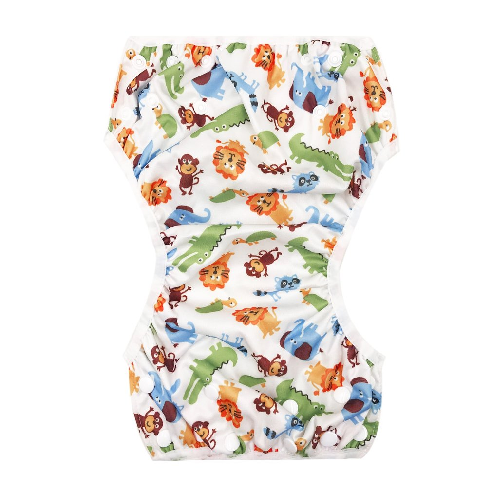 Hot OUTAD Baby  Waterproof Adjustable Swim Diaper Pool Pant For 3-15KG Baby Washable Cloth Diaper Reusable Baby Swimming Nappies