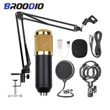 Microphone Professional Singing-Mic Cardioid Karaoke-Condenser Studio Sound-Recording