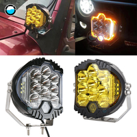 2pcs 7 90W LED Work Light Bar Spot Driving Fog Lamp LED Work Light For Jeep ATV UAZ SUV 4WD 4x4 Truck Tractor LED Work Light.