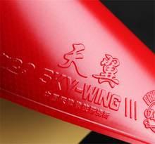 Ritc 729 amizade céu-asa espinhas no tênis de mesa pingpong borracha ultra leve borracha backhand ping pong esponja