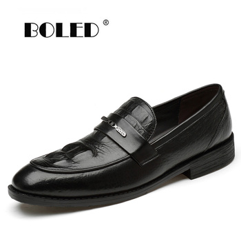 Plus size men dress shoes genuine leather wedding formal shoes handmade slip on business oxford shoes men northmarch spring autumn new mens business dress shoes fashion slip on tassel leather wedding shoes men handmade work shoes
