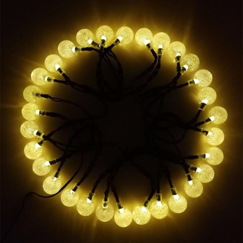 de cristal mais popular globo luzes fadas