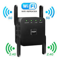 5G Wifi Repeater Wifi Extender Wifi Amplifier 2.4G Wireless Long Range Wi Fi Booster Wi-Fi Repeater Signal Wi-fi Extender