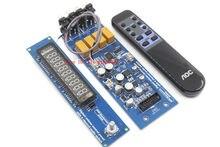 Assembeld CS3310 Remote Preamp Board Mit VFD Display 4 Weg Vorverstärker Bord
