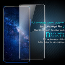 Huawei Honor 9X Screen Protector IMAK Hydrogel Front&Back 0.15MM Soft TPU Protective Film for Huawei Honor 9X Pro Not Glass(China)