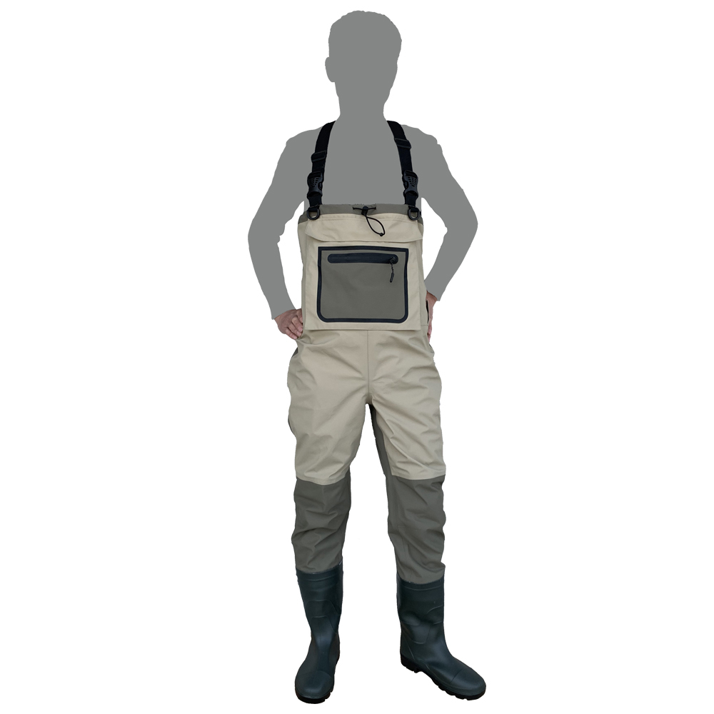 fly fishing waders for hunting Quick-dry Waterproof and breathable thickening boot