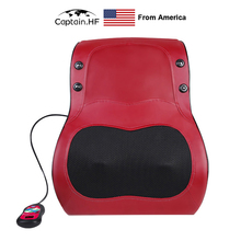 US Captain  Massager Relaxation, Heating Infrared Therapy, Electric Massage Pillow for Neck, Back, Body, Relief Pain Device