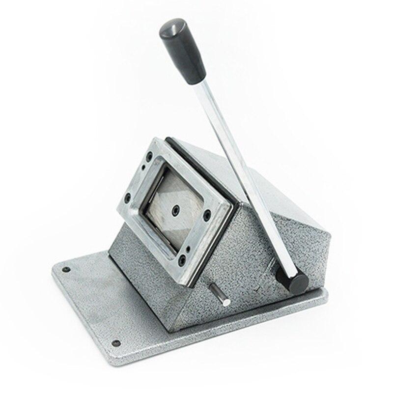 PVC Card Cutting Machine Business Car Paper Cutter 86*54MM Card Punching Machine Manual Cutting Tools Machining Center