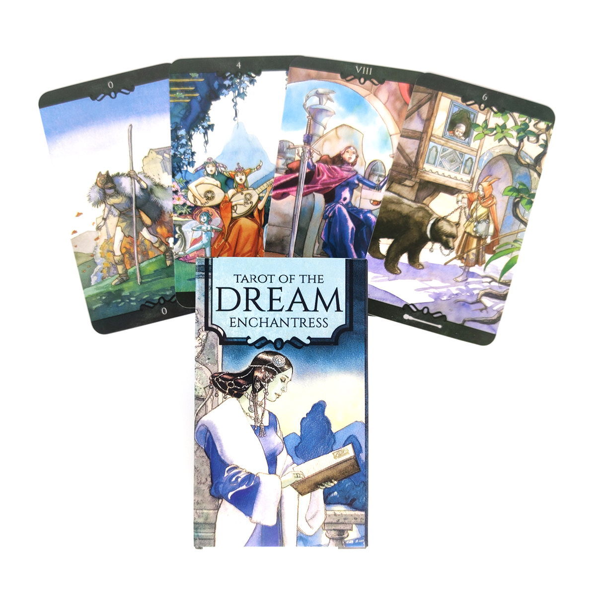 2021 New The Dream Enchantress Tarot Cards Deck And PDF Guidance Divination Entertainment Parties Board Game 78 PCS/Box