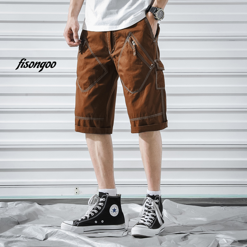 Men S Military Cargo Shorts 2019 Brand New Army Print Tactical Men Cotton Loose Work Casual Short Pants