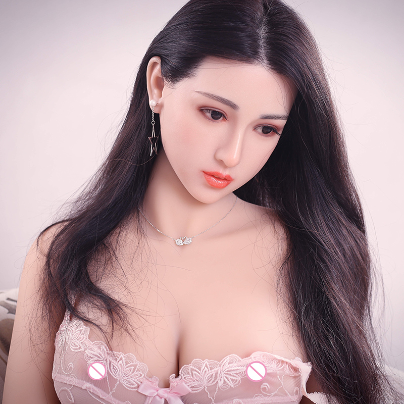 <font><b>161cm</b></font> Top Quality Lifelike <font><b>Sex</b></font> <font><b>Dolls</b></font> Real Adult, Full Size Silicone with Skeleton Love <font><b>Doll</b></font>, Big Ass Japanese Mannequins image