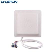 Chafon cf ru5106中距離uhf帯rfid統合リーダー/ライターとRS232/WG26/RS485インタフェース駐車管理