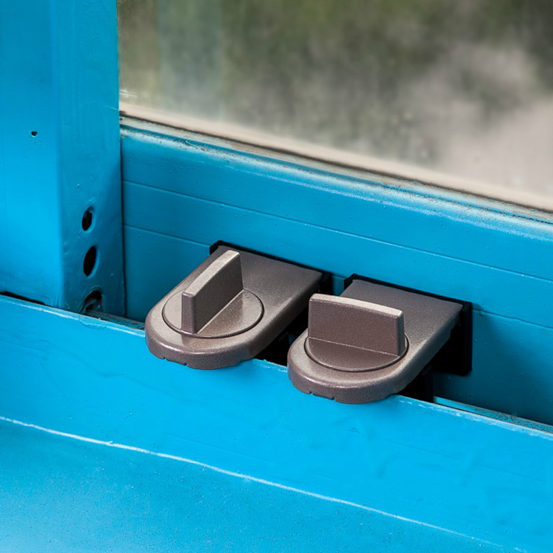 Sliding Window Stopper Baby Safety Lock For Sliding Door Window Cabinet Locks Child Security Protection Anti-theft Lock
