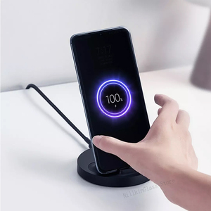 Image 5 - Xiaomi mijia הרשמי שדרוג אלחוטי תשלום מהיר 20W מקסימום סטריאו מטען עבור iPhone סמסונג huawei redmi נייד טלפון אוניברסלי