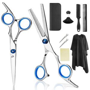 10PC Hair Scissors Cutting She
