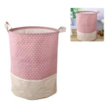 Корзина для белья Водонепроницаемая складная корзина для грязной одежды для хранения игрушек