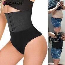 Thong Panty Shaper Taille Trainer Buik Gordel Slips Hoge Taille Tummy Ondergoed Afslanken Onderbroek Naadloze G-string Shapewear