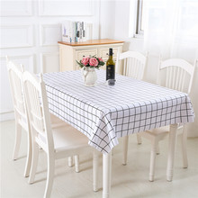 PVC Plastic Tablecloth Print Color Pink Wedding Birthday Party Table Cover Rectangle Desk Cloth Wipe Covers Waterproof