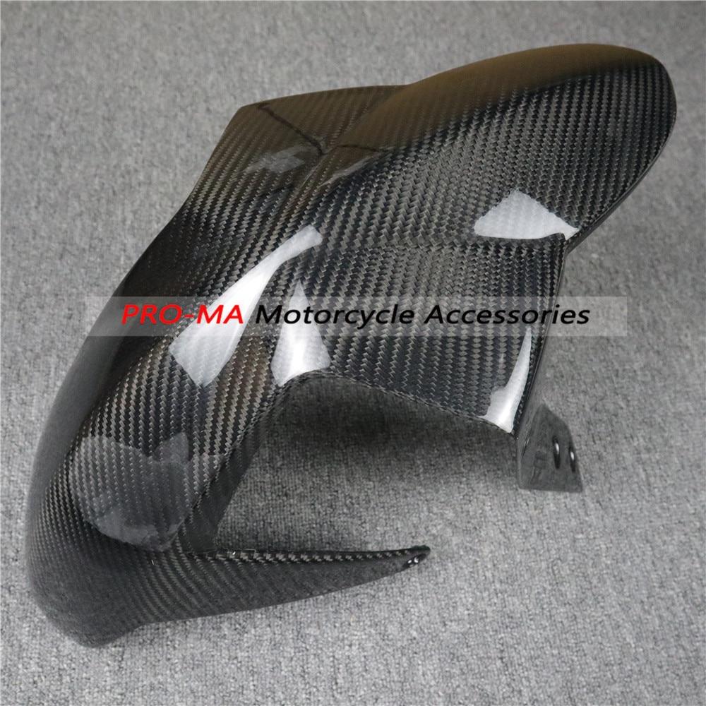 Motorcycle Front Fender/hugger In Carbon Fiber For KTM 690 Duke 2012 Twill Glossy Weave