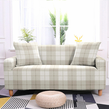 Lattice Elastic Sofa Cover All-inclusive Slip-resistant Covers Seat Couch Towel High Quality Home