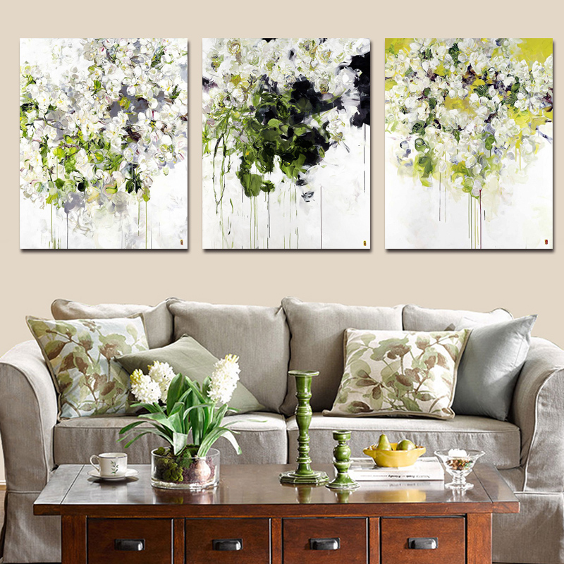 Diy Paint Drawn By Digital Pictures Abstract Flowers Art Creative Hand-painted Decorative Paintings Adult Decompression Painting