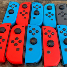 Original for Nintendo Joycon Game Controller Left Right for NS Left and Right Switch Accessories JoyCon Second-Hand Dropship for b2005 plus b3000plus left