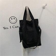 Fashion Style Shoulder Bag Casual Handbag Large Capacity Ladies Portable Shopping Reusable Wear-resistant Messenger