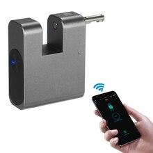 Waterproof APP Control Lock BT Smart Keyless Lock Anti-Theft Padlock Door Luggage Case Locker Lock for Android iOS System
