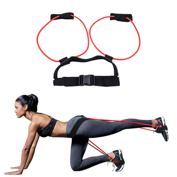 Fitness Booty Bands Bounce Trainer Elastic Pull Rope Squat Resistance Bands Adjust Waist Belt Leg Strength Agility Training 1