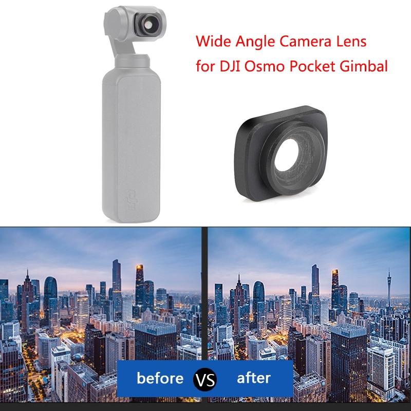 DJI Osmo Pocket Wide Angle Camera Lens Magnetic Structure HD 0.65X Wide Lens For DJI Osmo Pocket Camera