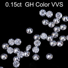 Loose Gemstones Moissanite GH Color 0.15ct 0.15Carat 3.5mm Clarity VVS Round Jewelry Bracelet Diamond Ring Material Loose Stones(China)