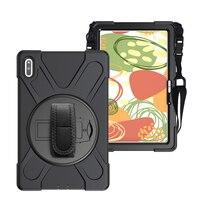 Funda de seguridad a prueba de golpes para niños, carcasa resistente para Huawei MatePad 10,4, 2020, BAH3-W09, soporte protector para tableta, correa para el hombro