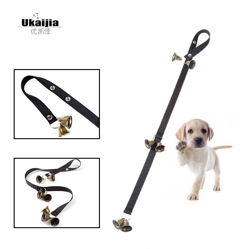 Manufacturers Hot Sales Amazon Pet Doorbell Lanyard Christmas Copper Bell Dog Nursing Alert Guide Dog Doorbell Pendant