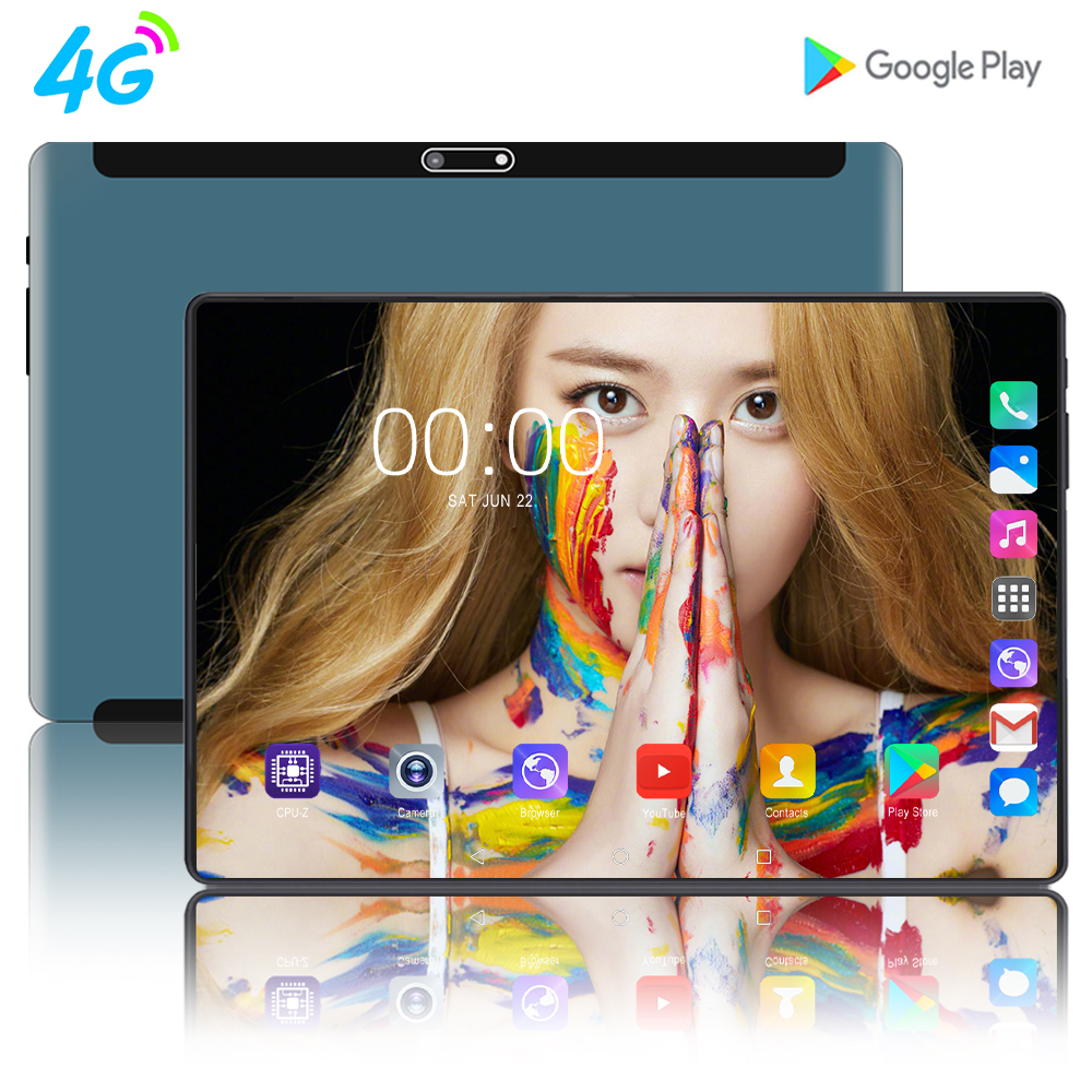 2020 Newest Tablet PC 10.1 Inch Tablets Android 9.0 8GB RAM 128GB Storage Octa-Core Processor 1920x1200 IPS HD Display 10