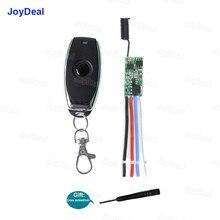 433mhz DC 3,6 V 6V 12V 24V 1CH Mini Relay Wireless RF Fernbedienung Schalter Power LED Lampe Controller Micro Empfänger Sender