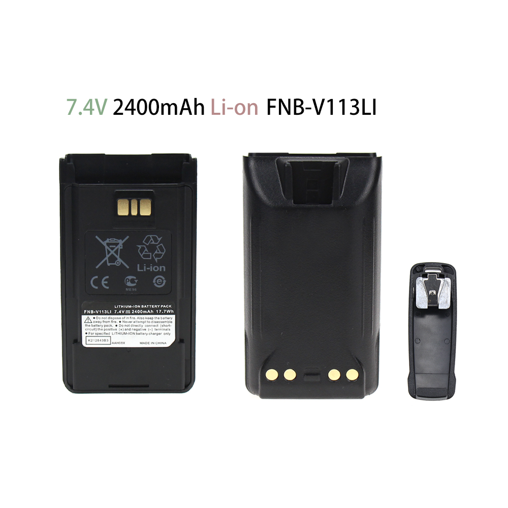 10X Replacement FNB-V113Li Vertex Battery For VX-450 VX-451 VX-454 VX-459 Radio(s)