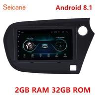 Seicane 2GB RAM 32GB ROM car Radio GPS Car Multimedia player 7 Android 8.1 For Honda Insight 2009 2016 Right Hand Drive 2Din