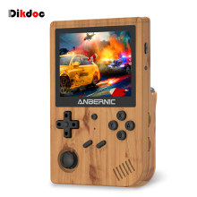 Dikdoc RG351V Handheld Game Console 3.5 Inch RK3326 Retro Console Mini TV Game Player Portable Video Game Console Emulators
